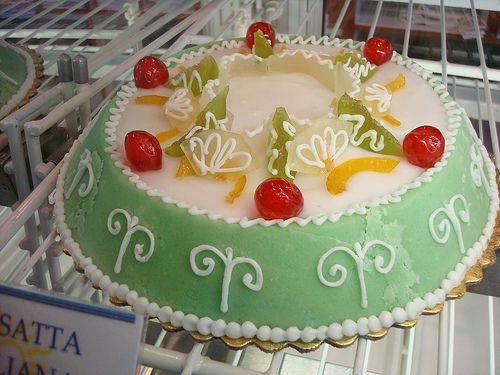 Cassata Siciliana aka Sicilian Cake! | Italian Sweets | Pinterest