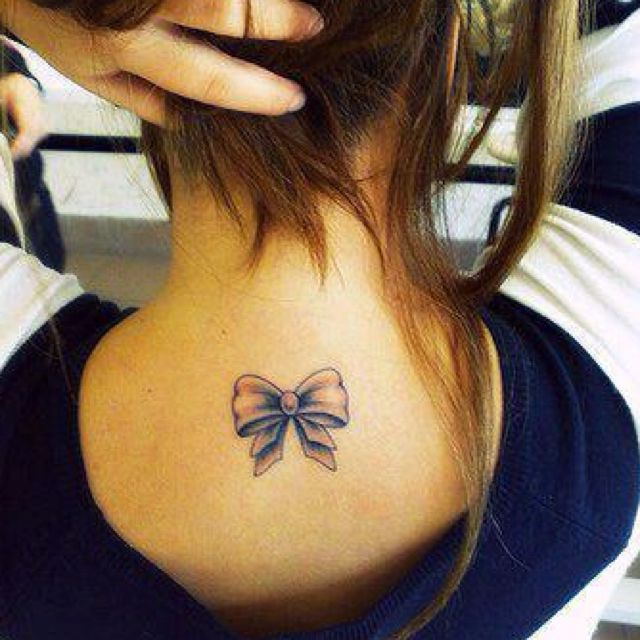 cute small bow tattoo tattoos pinterest. Black Bedroom Furniture Sets. Home Design Ideas