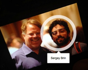 "Google Cofounder Sergey Brin Spotted Wearing The ""Google Glasses"""