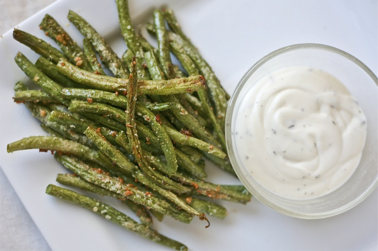 Roasted Parmesan Green Beans | Recipes/Food | Pinterest