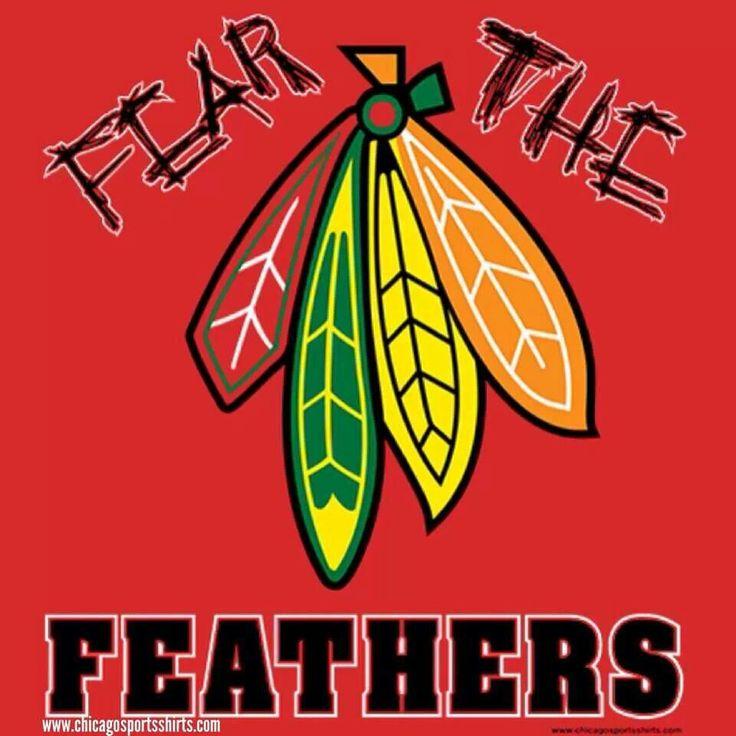 blackhawks feathers
