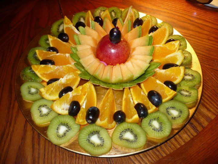 fruit platter designs