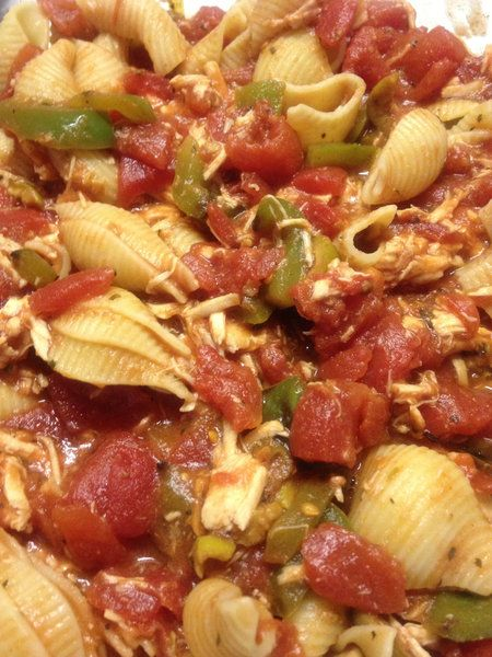 Tomato- Beef Pasta Recipe — Dishmaps