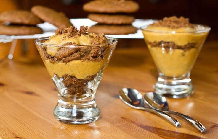 Pumpkin Pie Chia Pudding Parfait | Pumpkin/Fall Obsession | Pinterest