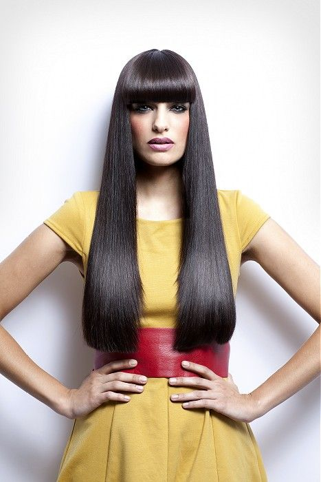 Hairstyles for long straight hair