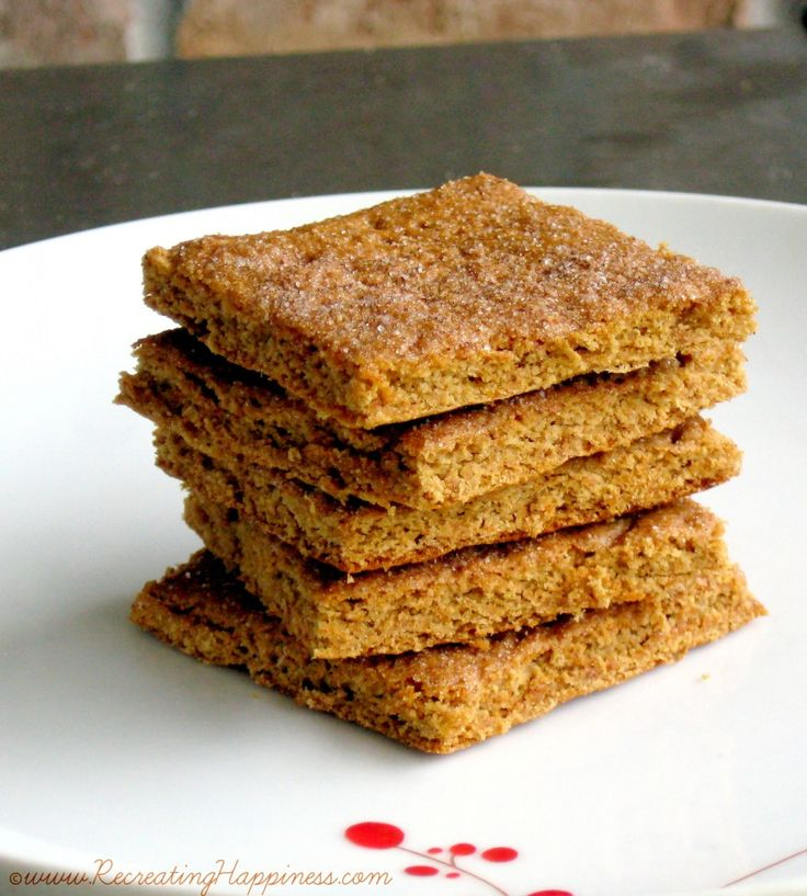Revisited & Revised!* Gluten Free Graham Crackers Recipe: Healthy Too ...