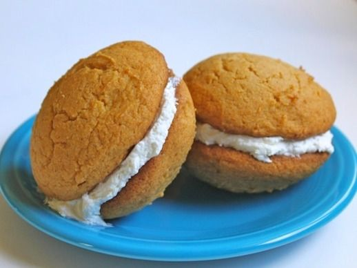 ... Tuesday: Pumpkin Whoopie Pies (marshmallow or cream cheese filling