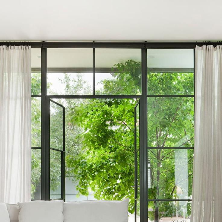 black aluminium windows done well for the home pinterest