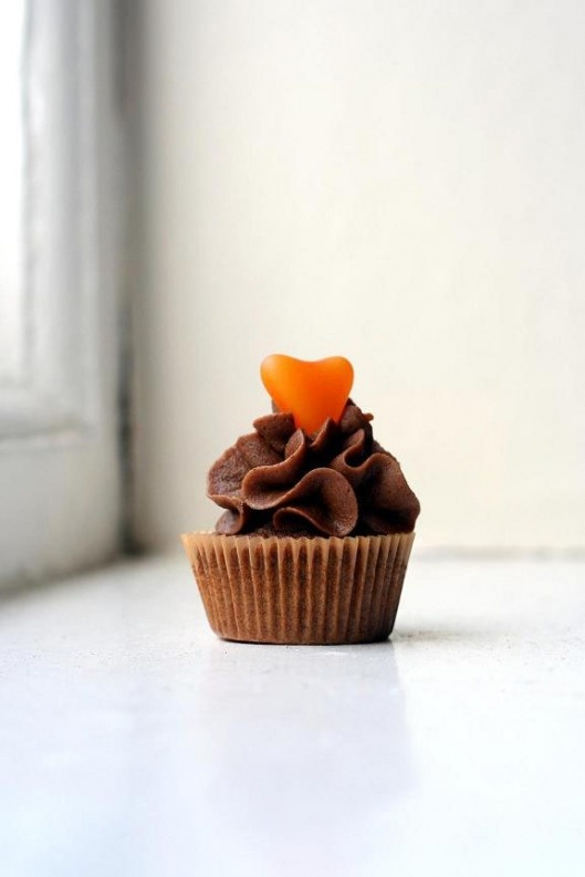 Chocolate Orange Cupcake | Cooking...its cheaper than a therapist ...