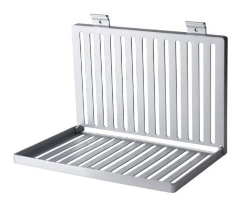 Wall mounted dish rack that folds shut cool gadgets pinterest - Dish racks for small spaces set ...