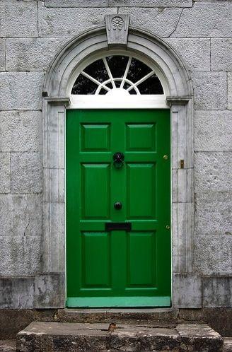 Emerald doors