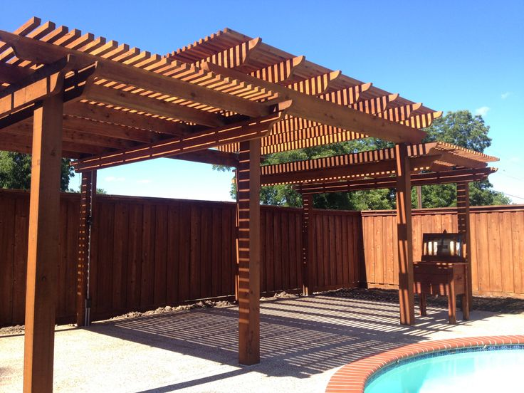 Two Tier Pergola For The Home Pinterest