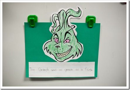 Grinch Writing 2nd Grade | Search Results | Calendar 2015