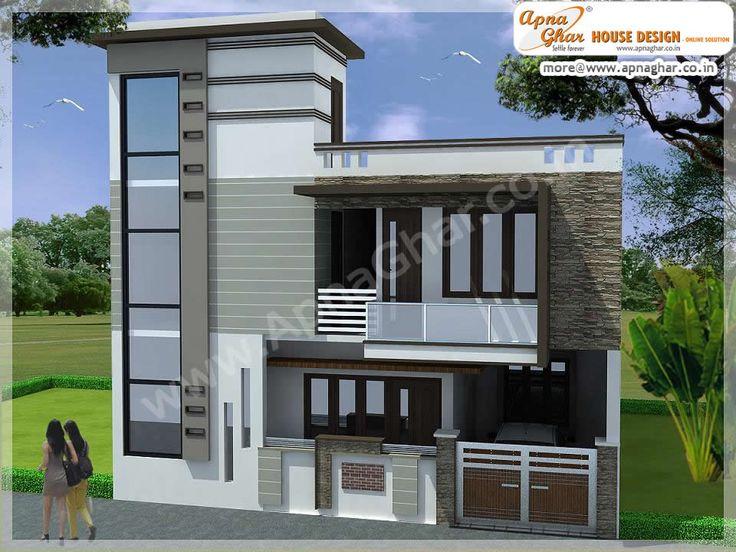 Simple Modern Independent Floor Design Area 120m2 10m X