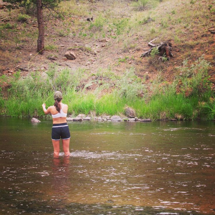 Fly fishing deckers colorado fly fishing pix of chix for Colorado fly fishing