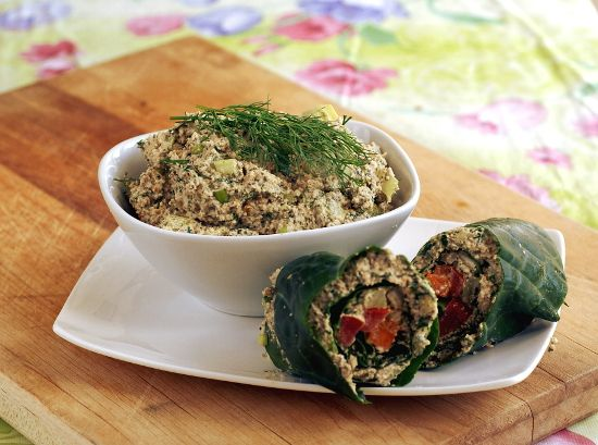 Mock Tuna Salad from Main Street Vegan (vegan, soy-free)