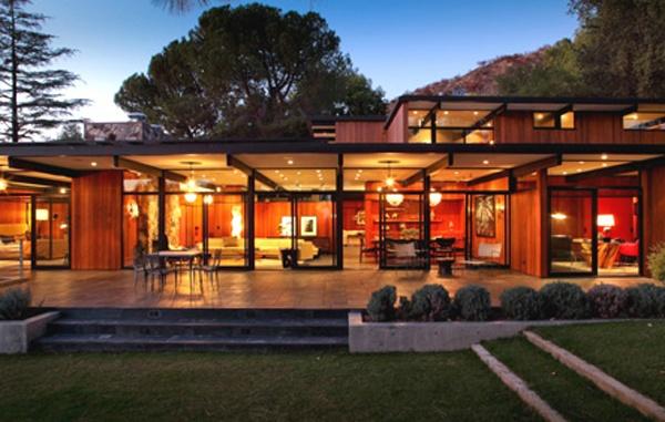 Mid century modern los angeles home design pinterest