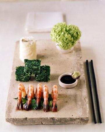 Sake-Steamed Shrimp and Miso Soup   recipes   Pinterest