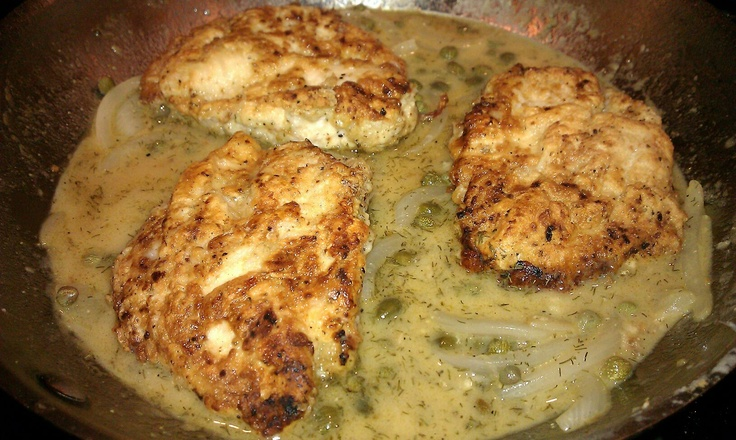 Lemon Chicken Breasts With Capers Recipes — Dishmaps