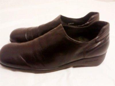 DONALD J PLINER Shoes 17M EGAN Loafers Slip-On Dark Brown Made in I