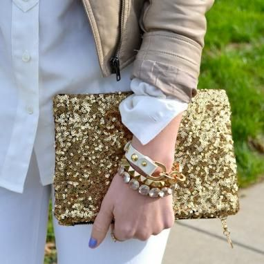 Sparkle clutch from Hello Fab