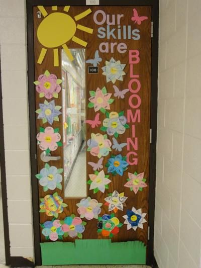 Classroom Decoration Ideas For Spring : Spring classroom door decorations
