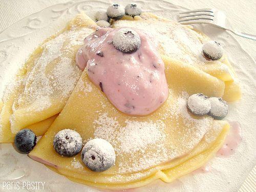 Blueberry Blintzes | Breakfast & Brunch | Pinterest