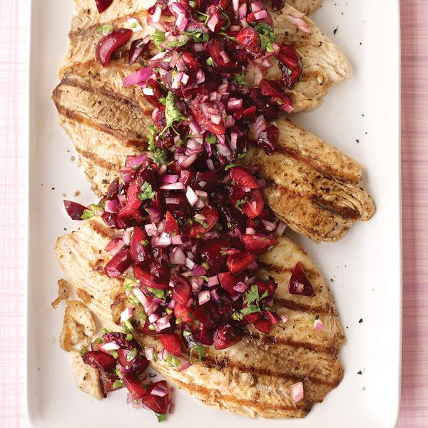 Grilled Tilapia with Cherry Salsa Recipe | Food Recipes - Yahoo! Shine