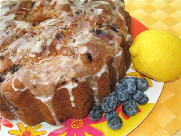 Blueberry Pound Cake recipe from Cooking Light magazine... This has ...