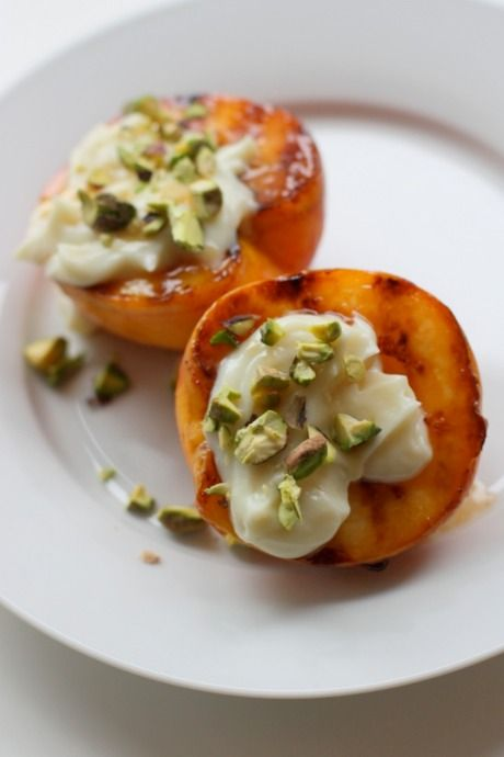Grilled peaches for dessert | cool things to try | Pinterest