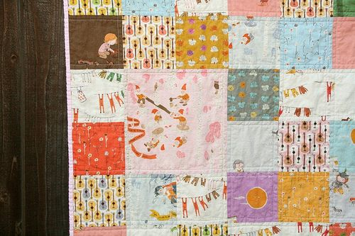 FFA III patchwork quilt by MLE Knits & Quilts