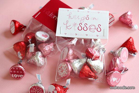valentine hershey kiss craft