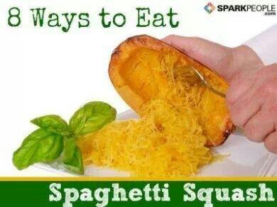 Spaghetti Squash   food!   Pinterest