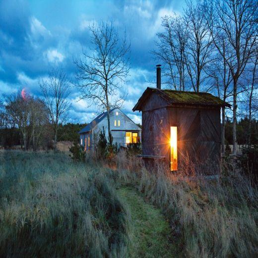perfect minimalist cabin