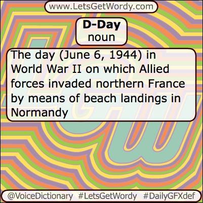 d-day ww2 definition