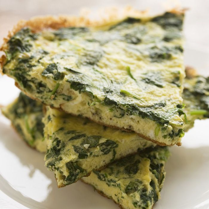 Swiss Chard and Goat Cheese Frittata - 5 net carbs Source - Shape ...