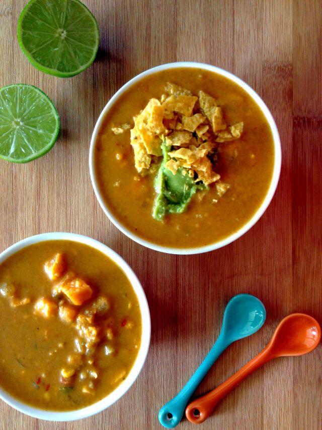 Spicy Sweet Potato Soup | recipes to make & bake | Pinterest