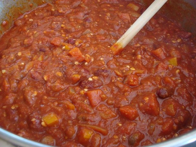 Lentil, Bean, Barley, & Vegetable Chili | Soup | Pinterest