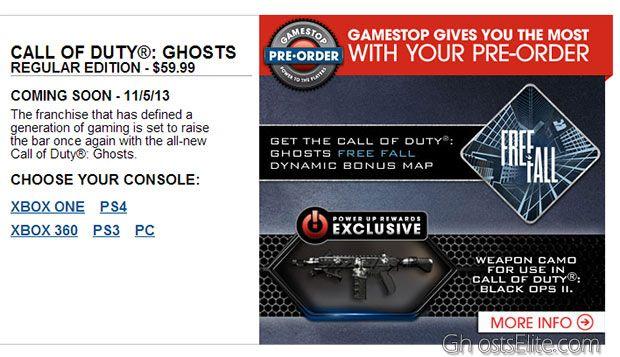 gamestop online pre-order