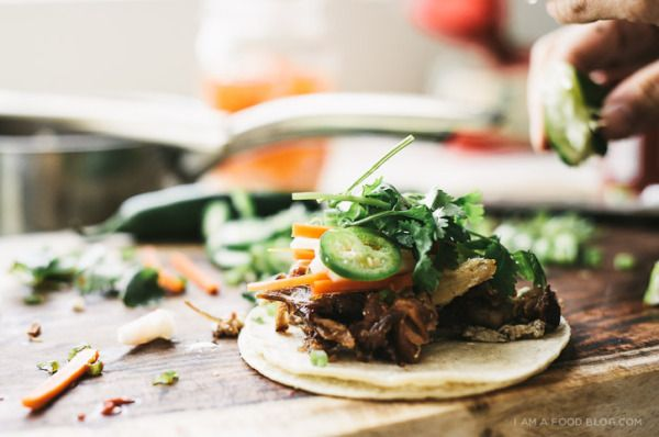 am a food blog's Banh Mi Tacos