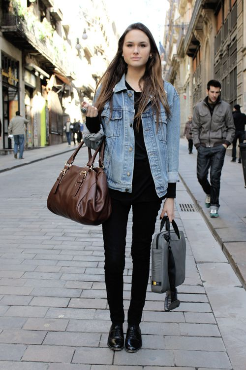 Barcelona Street Style F For Fashion Pinterest