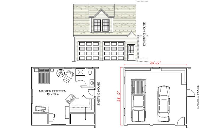 Over The Garage Addition Floor Plans Every Man S Dream Structure A Creative And Luxurious