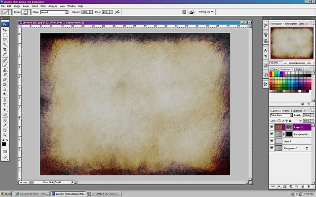 photoshop tutorial for creating your own textures