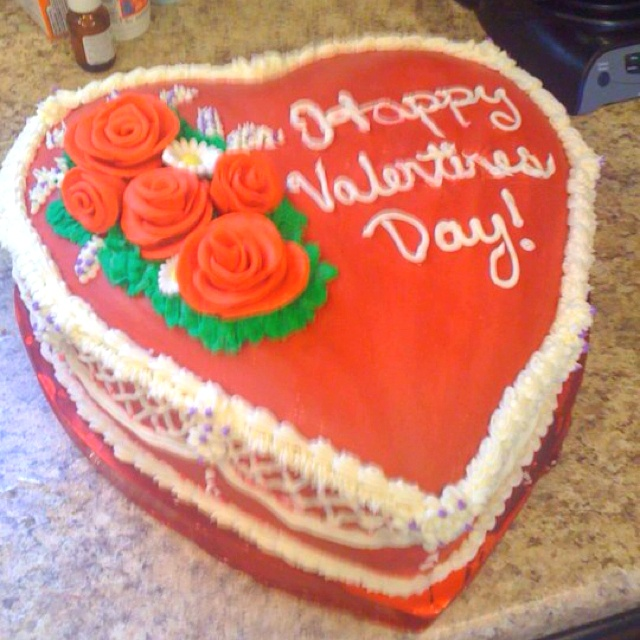 valentine's day cake tumblr