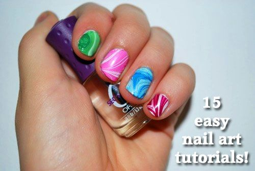 15 easy nail art tutorials