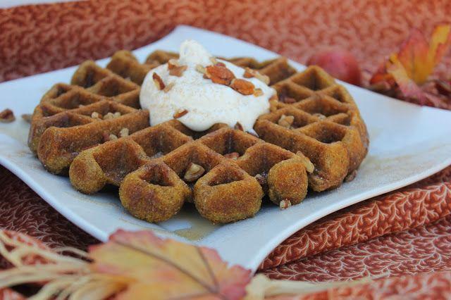 Pumpkin Waffles | Breakfast | Pinterest