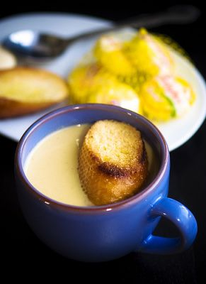 James Beard's Garlic Soup | Soup | Pinterest