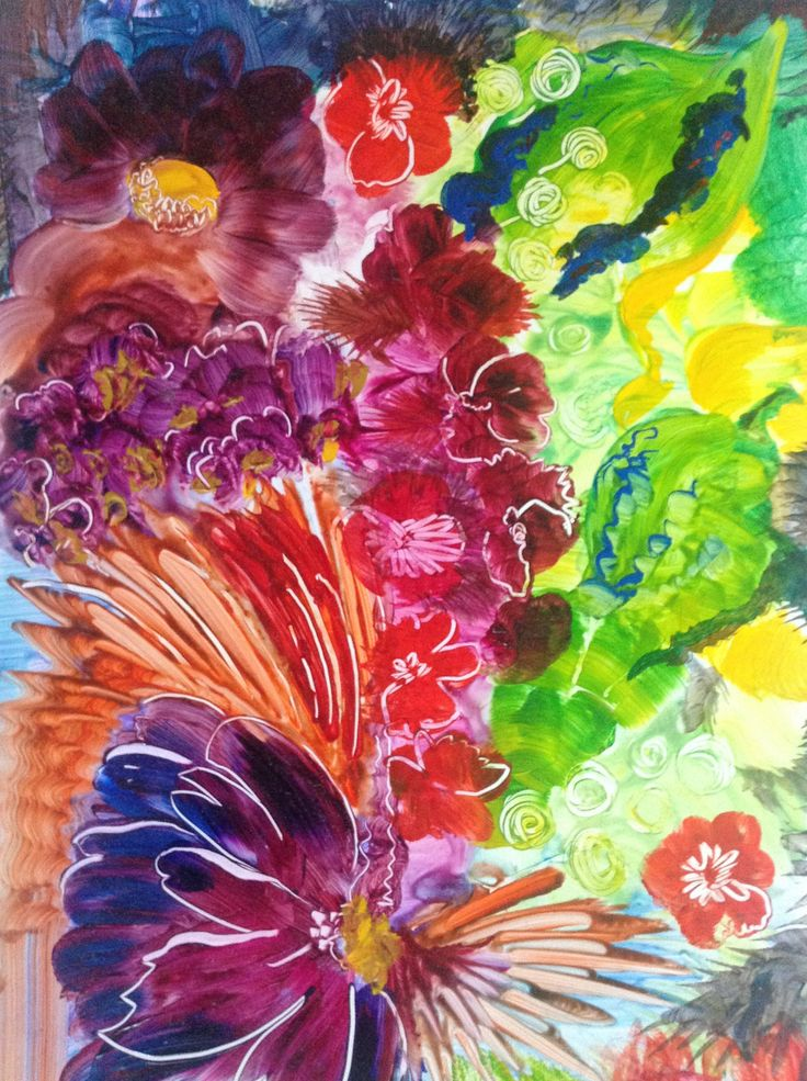 Acrylic on yupo paper painting pinterest for How to paint on paper with acrylic paints