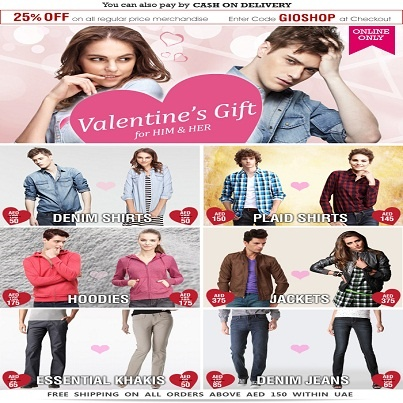 The Perfect Valentine GIFT for Him/Her! UAE Online Shopping Newsflash ...