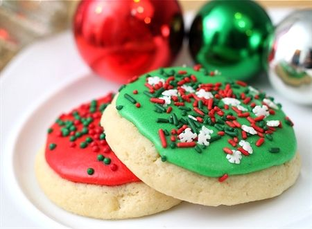 Soft Frosted Sugar Cookies. These were sent to us by a dear friend ...
